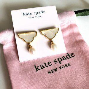 Kate Spade Into the Sky Cloud drop earrings